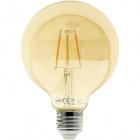 Light Bulb E27 (thick) Globe JOBIM LED D95 4W 2200K 200lm Amber-A+