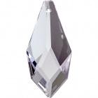 Crystal drop 3,8xD.2,2cm 1 hole transparent