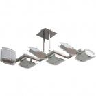 Ceiling Lamp BETIM 6xG9 L.85xW.35xH.Reg.cm Grey/Chrome