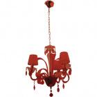 Ceiling Lamp ADELAIDE 3xE14 H.Reg.xD.50cm Red