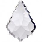 Crystal pendluque 10,1x6,9cm 1 hole transparent