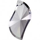 Crystal leaf 5x2,3cm transparent (Box)