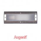 Recessed Wall Lamp GEMINI IP65 1xE27 L.25,4xH.9,2cm Anthracite