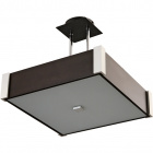 Ceiling Lamp MARILENE square 2xE27 L.32xW.32xH.Reg.cm Wengue