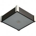 Plafond MARILENE square 2xE27 L.32xW.32xH.9cm Wengue