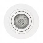 Downlight EROS round rotating 1xGU10 H.2,5xD.10cm White
