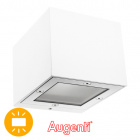 Wall Lamp GINEVRA IP65 1xG9 L.9,5xW.11xH.8,2cm Aluminium+Glass White