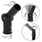 Adapter for Street Light PASTEUR H.24,5cm Black