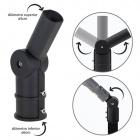 Adapter for Street Light PASTEUR H.26,8cm Black