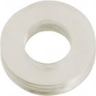 Transparent washer H.0,45xD.2cm