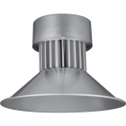 High Bay BRONX 1x50W LED 4000lm 3000K 120° H.35xD.41cm Silver