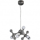 Ceiling Lamp CALYPSO 9x2,5W LED 4000K H.Reg.xD.45cm Chrome