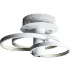 Ceiling Lamp SAMANTHA 1x63W LED 6395lm 3000K W.52H.25cm White
