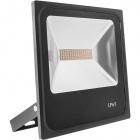 Floodlight TRENT IP65 1x50W LED 3500lm 6400K 120° L.27xW.6xH.28,5cm Black