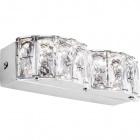 Wall Lamp ZURIQUE 1x8W LED 690lm 4000K L.22xW.9xH.5cm Chrome