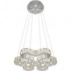 Ceiling Lamp NUUK 1x24W LED+3x3W LED 3450lm 3000K H.Reg.xD.48cm Chrome