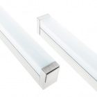 Wall Lamp TICIANO 1x12W LED 685lm 4000K L.60,5xW.4xH.6cm Silver