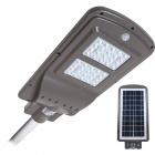 Solar Wall Lamp STREET with sensor IP65 1x40W LED 1100lm 6000K L.23xW.50xH.7cm Grey
