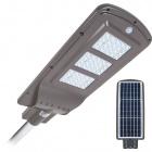 Solar Wall Lamp STREET with sensor IP65 1x60W LED 1500lm 6000K L.25xW.62,5xH.7cm Grey