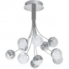 Ceiling Lamp THERESE 1x44W LED 3520lm 3000K H.61,5xD.60cm Chrome
