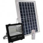 Solar Floodlight JUNOT IP66 1x20W LED 400lm 6500K L.17xW.5,1xH.14,8cm Black (2cx)