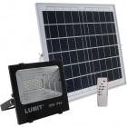 Solar Floodlight JUNOT IP66 1x30W LED 600lm 6500K L.33,5xW.11xH.29cm Black (2cx)