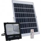 Solar Floodlight JUNOT IP66 1x50W LED 1050lm 6500K L.24xW.8xH.21cm Black (2cx)
