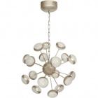 Ceiling Lamp PLANETT 18x5W LED 6750lm 3300K H.Reg.xD.50cm Champanhe