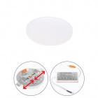 Downlight LIRA round 1x12W LED 1080lm 3000K 120° H.1,5xD.8,5cm White