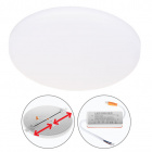 Downlight LIRA round 1x30W LED 2700lm 3000K 120° H.1,8xD.20cm White
