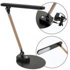 Table Lamp DAISY 1x5W LED 280lm 4000K L.30xW.17xH.Reg.cm Black/Wood