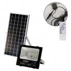 Solar Floodlight NAVARRE IP65 1x20W LED 640lm 6500K L.17,2xW.5,4xH.14,8cm Aluminium Black