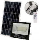 Solar Floodlight NAVARRE IP65 1x150W LED 4000lm 6500K L.35,2xW.9xH.28,5cm Black