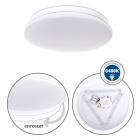 Plafond DRIFT 12W LED 960lm 6400K H.6xD.25cm White