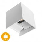 Wall Lamp SOR IP67 2x3W LED 500lm 3000K L.10xW.10xH.10cm White
