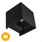 Wall Lamp SOR IP67 2x3W LED 500lm 3000K L.10xW.10xH.10cm Black