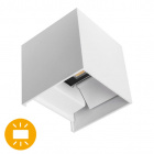 Wall Lamp SOR IP67 2x5W LED 800lm 6500K L.10xW.10xH.10cm White
