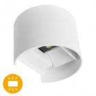 Wall Lamp SALAS IP65 2x3W LED 500lm 3000K L.14xW.12xH.10cm White