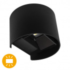 Wall Lamp SALAS IP65 2x3W LED 500lm 3000K L.14xW.12xH.10cm Black