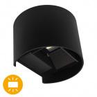 Wall Lamp SALAS IP65 2x3W LED 500lm 6000K L.14xW.12xH.10cm Black