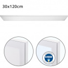 Surface Mounted Panel VOLTAIRE 30x120 72W LED 5760lm 6400K 120° W.120xW.30xH.2,3cm White