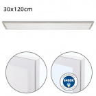 Surface Mounted Panel VOLTAIRE 30x120 72W LED 5760lm 6400K 120° W.120xW.30xH.2,3cm Nickel
