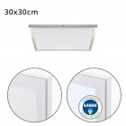 Surface Mounted Panel VOLTAIRE 30x30 24W LED 1920lm 6400K 120° W.30xW.30xH.2,3cm White