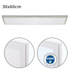 Surface Mounted Panel VOLTAIRE 30x60 36W LED 2880lm 6400K 120° W.60xW.30xH.2,3cm Nickel