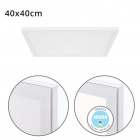 Surface Mounted Panel VOLTAIRE 40x40 36W LED 2880lm 4000K 120° W.40xW.40xH.2,3cm White