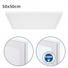 Surface Mounted Panel VOLTAIRE 50x50 48W LED 3840lm 6400K 120° W.50xW.50xH.2,3cm White
