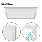 Surface Mounted Panel VOLTAIRE 40x40 36W LED 2880lm 4000K 120° W.40xW.40xH.2,3cm Nickel