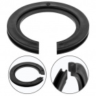 Plastic E14 shade adapter ring for lampshades fitting E27 0,4xD.4,5cm black