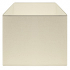 Lampshade CIPRIOTA square fabric PVC8886 with fitting E27 L.30xW.30xH.22cm Natural (Raw)