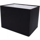 Lampshade KOSOVAR rectangular with fitting E14 L.20xW.14xH.14cm Black